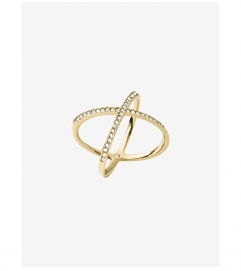 Michael Kors Pavé Gold-Tone Ring