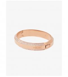 Michael Kors Pavé Rose Gold-Tone Bracelet