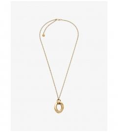 Michael Kors Gold-Tone Pendant Necklace