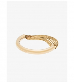 Michael Kors Gold-Tone Draped-Chain Bracelet