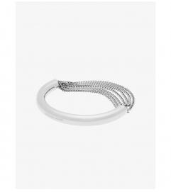 Michael Kors Silver-Tone Draped-Chain Bracelet