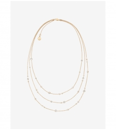 Michael Kors Gold-Tone Multi-Strand Station Necklace
