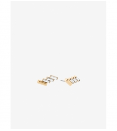 Michael Kors Baguette Stud Earrings