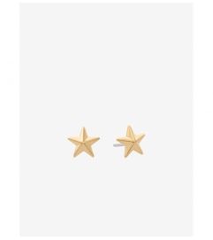 Michael Kors Gold-Tone Star Stud Earrings