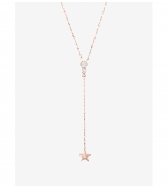 Michael Kors Rose Gold-Tone Celestial Pendant Necklace