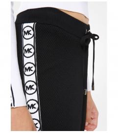 MICHAEL Michael Kors Logo Tape Mesh Joggers