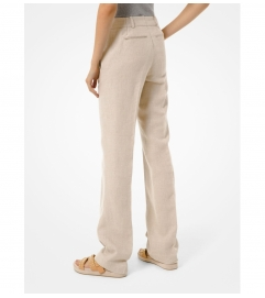 MICHAEL Michael Kors Washed Linen Pants