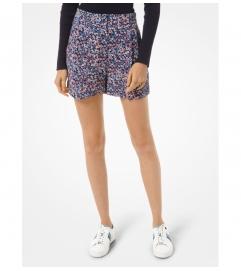 MICHAEL Michael Kors Floral Crepe Shorts