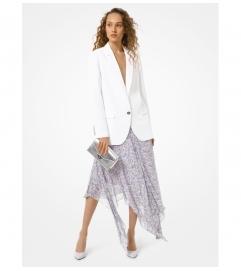 MICHAEL Michael Kors Floral Georgette Handkerchief Skirt