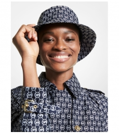 MICHAEL Michael Kors Diamond Logo Jacquard Bucket Hat