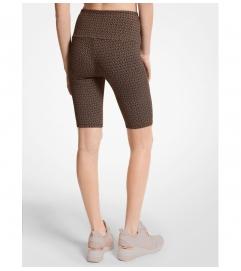 MICHAEL Michael Kors Logo Nylon Blend Bike Shorts