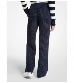 MICHAEL Michael Kors Polka Dot Georgette Pajama Pants