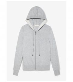 MICHAEL Michael Kors Wool Blend Zip-Up Hoodie