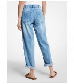 MICHAEL Michael Kors Stretch Denim Carrot Jeans