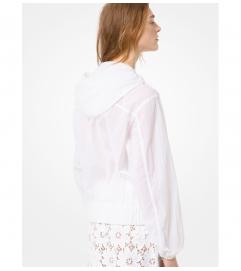 MICHAEL Michael Kors Paper Nylon Popover Jacket
