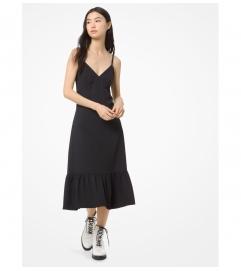 MICHAEL Michael Kors Ruffled Slip Dress