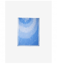 MICHAEL Michael Kors Tie Dye Silk and Linen Gauze Scarf