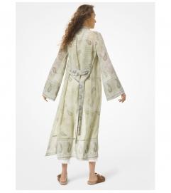 MICHAEL Michael Kors Paisley Georgette Kimono