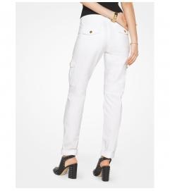 MICHAEL Michael Kors Cargo Straight-Leg Jeans