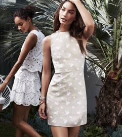 MICHAEL Michael Kors Floral-Print Linen Dress