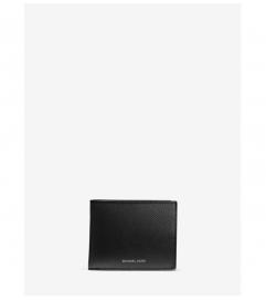 Michael Kors Mens Henry Leather Slim Billfold Wallet