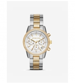 Michael Kors Ritz Two-Tone Watch